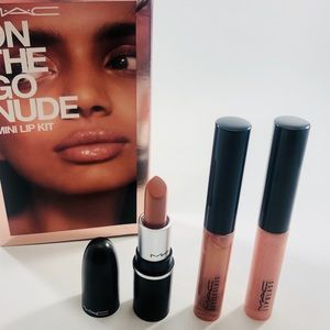 MAC On The Go Nude Mini Lip Kit